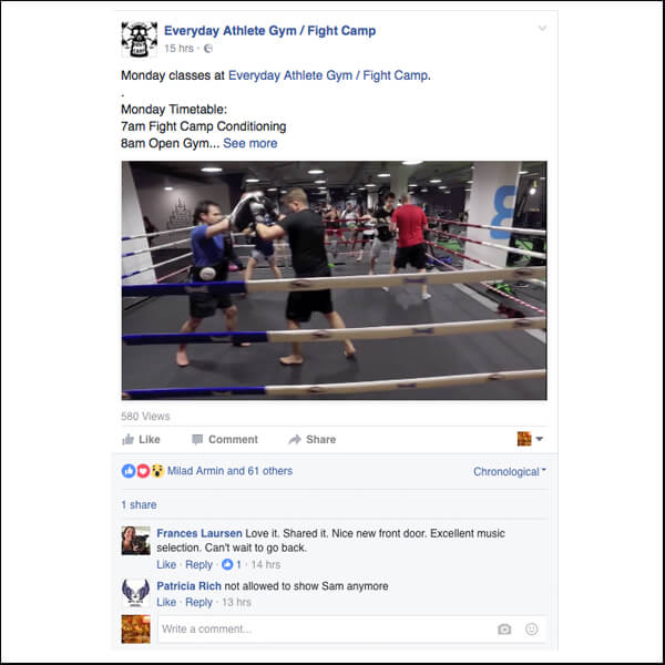 Everyday Athlete, Glasgow are great at showing their values with every single post.