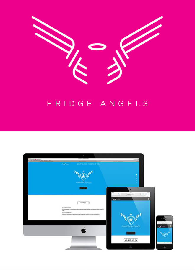 Fridge Angels Branding & Website b