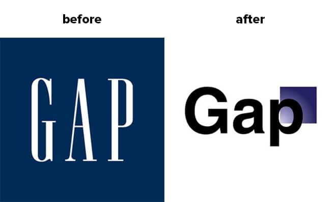 gap rebrand