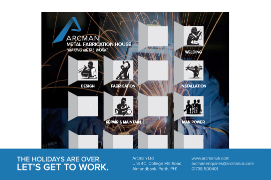 Arcman-Making Christmas Campaign