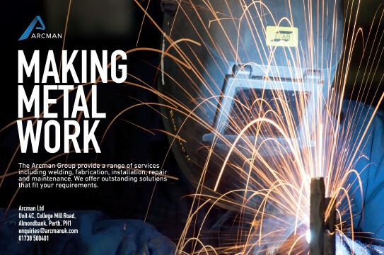 Arcman-Making Metal Work