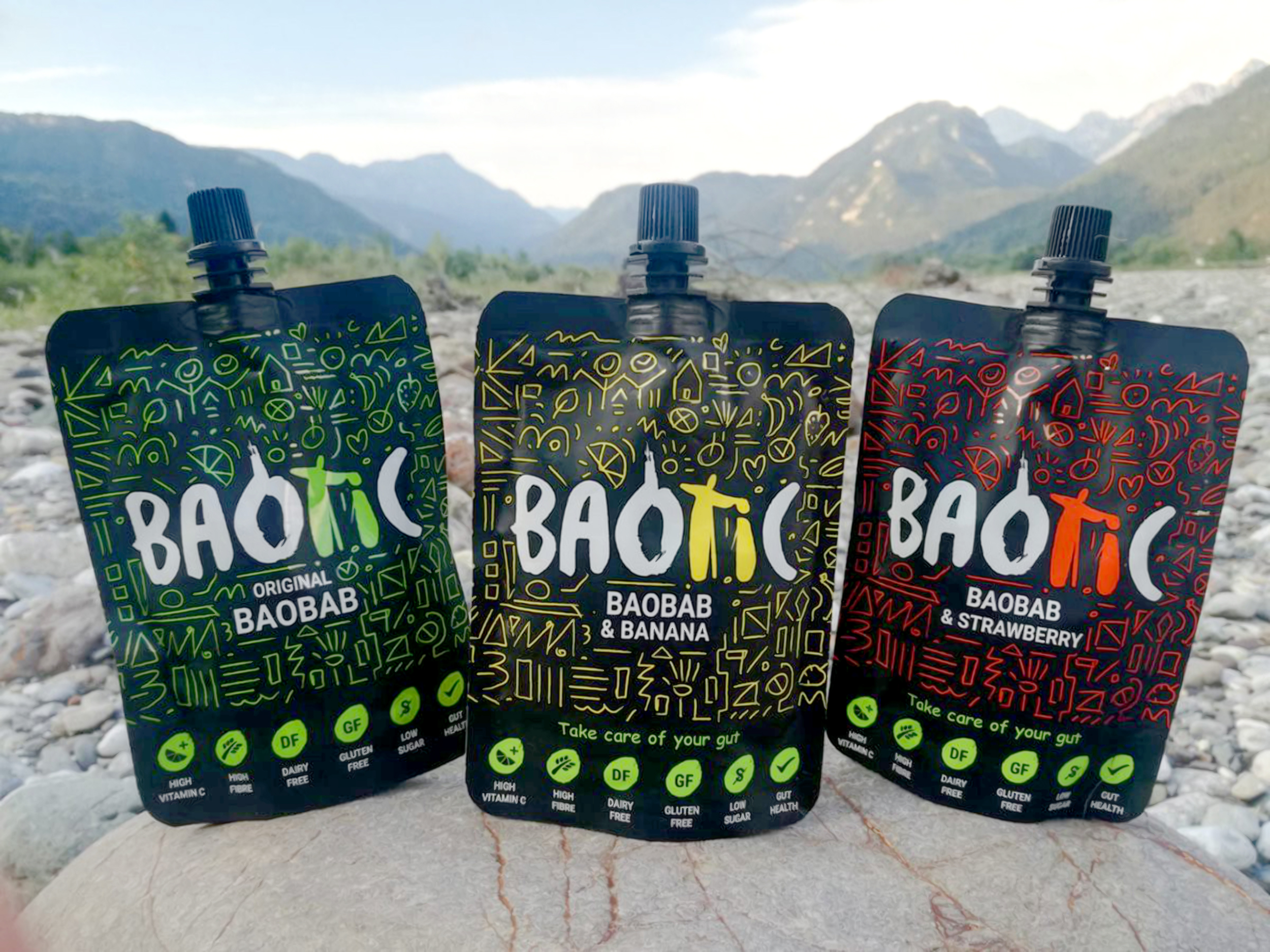 Product Packaging Design for Drink Baotic